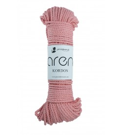 Aren Cotton Kordon İp Pembe
