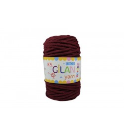 Cotton Kordon İp Bordo