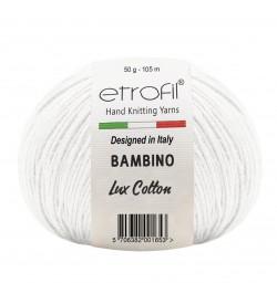 Etrofil Bambino Lux Cotton Beyaz 70019