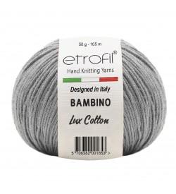 Etrofil Bambino Lux Cotton Gri 70094