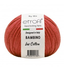 Etrofil Bambino Lux Cotton Kırmızı 70328