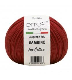 Etrofil Bambino Lux Cotton Bordo 70346