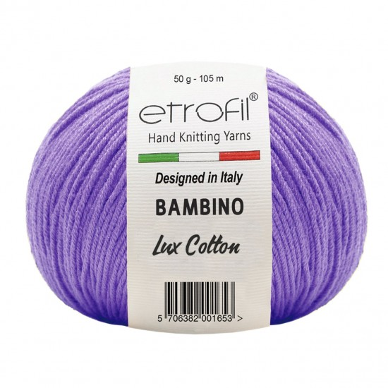 Etrofil Bambino Lux Cotton Mor 70612
