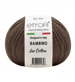 Etrofil Bambino Lux Cotton Kahve 70707