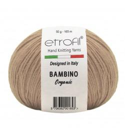 Etrofil Bambino Baby Cotton Koyu Bej 70078