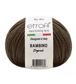 Etrofil Bambino Baby Cotton Kahve 70079
