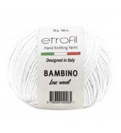 Etrofil Bambino Lux Wool Beyaz 70017