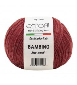 Etrofil Bambino Lux Wool Kırmızı 70034