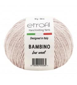 Etrofil Bambino Lux Wool Açık Bej 70077