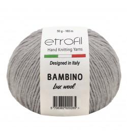 Etrofil Bambino Lux Wool Gri 70086