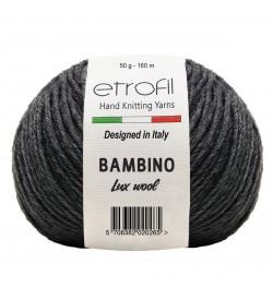 Etrofil Bambino Lux Wool Antrasit 70090