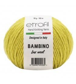 Etrofil Bambino Lux Wool Sarı 70211