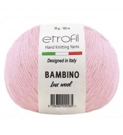 Etrofil Bambino Lux Wool Açık Pembe 70309