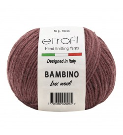 Etrofil Bambino Lux Wool Vişne 70314