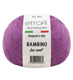 Etrofil Bambino Lux Wool Fuşya 70315