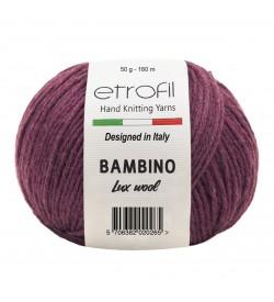 Etrofil Bambino Lux Wool Koyu Kırmızı 70316