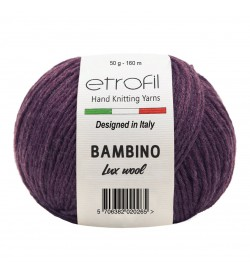 Etrofil Bambino Lux Wool Bordo 70317