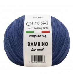 Etrofil Bambino Lux Wool Mavi 70517