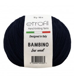 Etrofil Bambino Lux Wool Lacivert 70535
