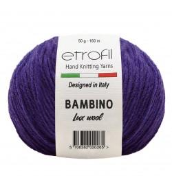 Etrofil Bambino Lux Wool Mor 70615