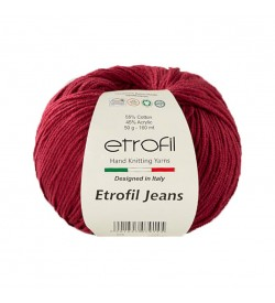 Etrofil Jeans Bordo 015