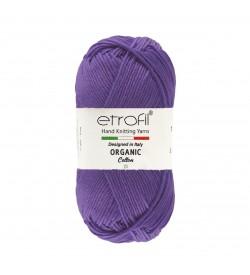 Etrofil  Organic Cotton Koyu Mor EB001