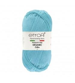 Etrofil  Organic Cotton Bebek Mavi EB011