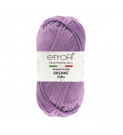 Etrofil  Organic Cotton Koyu Lila EB034