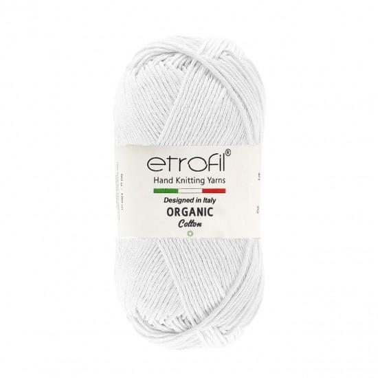 Etrofil  Organic Cotton Beyaz EB036