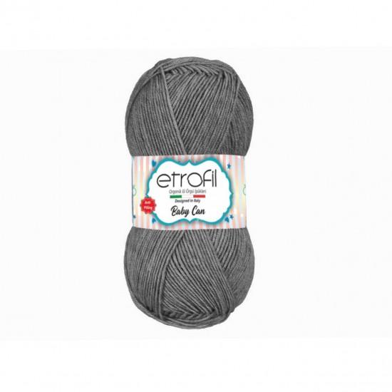 Etrofil Baby Can Gri-80091