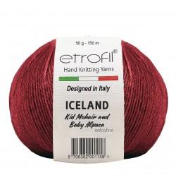 Etrofil Iceland Bordo 70335