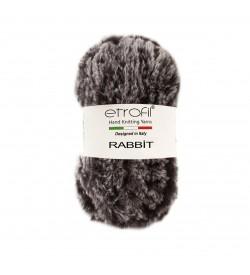 Etrofil Rabbit Gri Siyah 70907