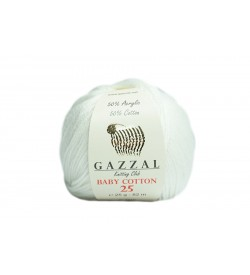 Gazzal Baby Cotton 25 - 3410