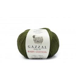 Gazzal Baby Cotton Haki -3463