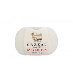 Gazzal Baby Cotton Ekru Bebek Yünü-3410
