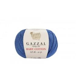 Gazzal Baby Cotton Koyu Mavi Bebek Yünü-3431