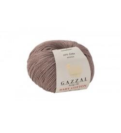 Gazzal Baby Cotton Açık Kahve Bebek Yünü-3434