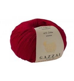 Gazzal Baby Cotton Koyu Kırmızı Bebek Yünü-3439