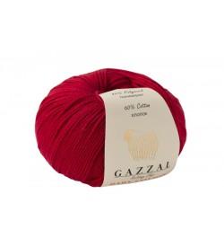Gazzal Baby Cotton Kırmızı Bebek Yünü-3443