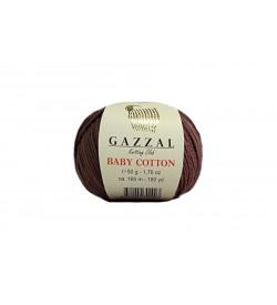 Gazzal Baby Cotton Kahverengi-3455