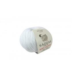 Gazzal Baby Cotton Beyaz-3432