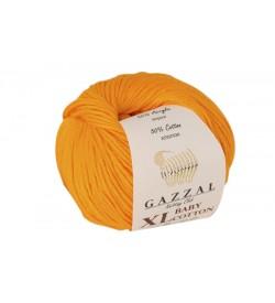 Gazzal Baby Cotton XL Açık Turuncu Bebek Yünü-3416XL