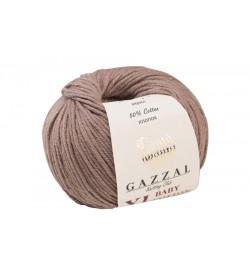 Gazzal Baby Cotton XL Açık Kahve Bebek Yünü-3434XL