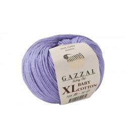 Gazzal Baby Cotton XL Açık Lila Bebek Yünü-3420XL