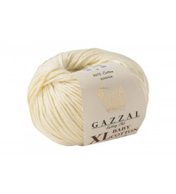 Gazzal Baby Cotton XL Bej Bebek Yünü-3437XL