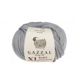 Gazzal Baby Cotton XL Gri Bebek Yünü-3430XL