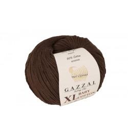 Gazzal Baby Cotton XL Kahverengi Bebek Yünü-3436XL