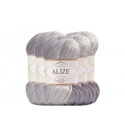 Alize Süperlana Zincir Batik 5 Adet 2881