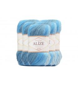 Alize Süperlana Zincir Batik 5 Adet 3495