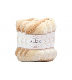 Alize Süperlana Zincir Batik 5 Adet 3050